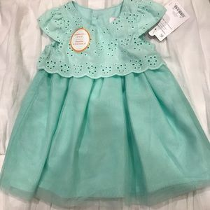 Caters Teal Dress